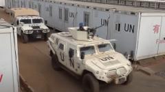 南苏丹:中国维和步兵营综合防卫演练
