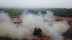 陆军第74集团军某旅:火炮实弹射击快速精准