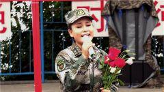 索朗旺姆軍營演唱《再唱山歌給黨聽》 再現天籟之音