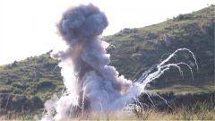 刚果(金):中国维和工兵分队执行弹药销毁任务