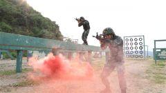 武警广西总队预备特战队员锤炼特种战术技能