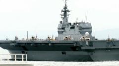 """日本""""准航母""""远航为何参加多国联演?杨希雨:指向性军事外交"""