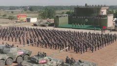 """陸軍""""鐵甲奇兵-2019""""比武:合成部隊師旅指揮員同臺競技"""