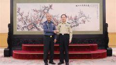 魏鳳和會見柬埔寨客人
