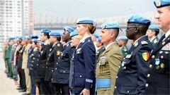 联合国举行仪式缅怀殉职的维和人员