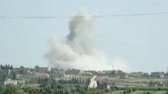 美又称叙政府军在西北部使用化武 叙政府:美国再次捏造谎言