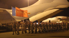 凱旋!中國第17批赴黎巴嫩維和部隊第一梯隊官兵回國