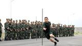 參賽戰士進行基礎體能課目比拼