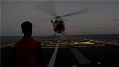 海軍第32批護航編隊跨晝夜飛行訓練