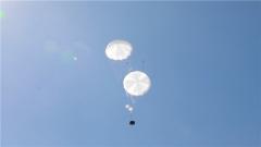 空軍航空兵某團:復雜戰場環境重裝空投訓練