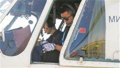 飛行員盛明——聯非達團最年輕的機長