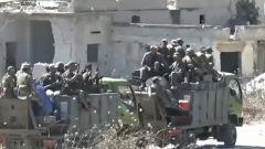 敘利亞政府軍收復哈馬省一重要村鎮
