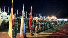 中国赴黎巴嫩维和部队完成第17次轮换交接