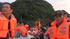 广西德保:连续强降雨 武警官兵紧急驰援
