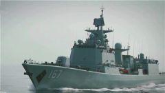 海军某驱逐舰支队:首期副政治委员海上进行岗位合格考核