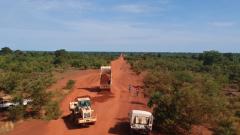 我维和工兵修复南苏丹主要补给线