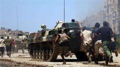 """利比亚""""国民军""""否认与民族团结政府停战"""
