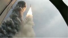 长征十一号发射一箭七星 中国航天完成首次海上发射