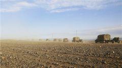 風沙肆虐 高溫50℃ 行軍600公里 新疆軍區某步兵團開啟熱血駐訓