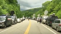 美国西点军校附近发生车辆事故