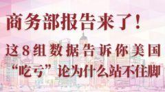 """商务部发布报告驳斥美方对华贸易""""吃亏""""论"""