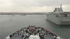 我海军第31批护航编队结束澳大利亚访问