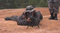 空枪实弹结合训练 特级狙击手调整状态角逐比武冠军