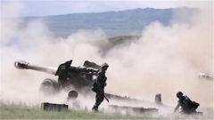 【聚焦实战化演兵场】新疆军区某炮兵团实弹射击考核