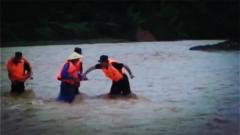 廣東河源:武警官兵緊急解救被困群眾