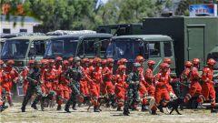 武警甘肅總隊:搶險救援時時練 危難關頭保平安
