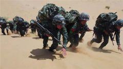 内蒙古武警:茫茫大漠磨砺反恐尖刀