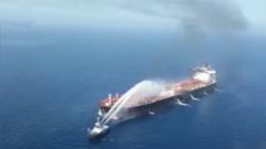 【阿曼灣油輪遇襲事件】日方:油輪先后遭到兩輪炮彈襲擊