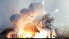 叙利亚首都一弹药库发生爆炸