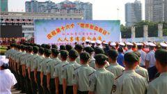 廣西貴港:武警官兵用熱血獻愛心