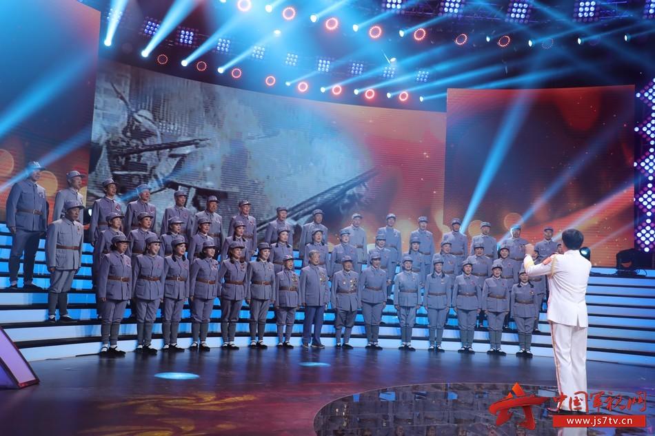 10 新四軍老戰士合唱團官唱響軍歌《游擊隊之歌