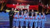 圖為北京大學附屬小學的學生們在節目中演唱了軍歌《紅星歌》。