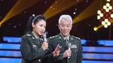 圖為軍歌傳唱者,著名詞作家王曉嶺分享母親劉薇和軍歌《看見你們格外親》背后的故事。