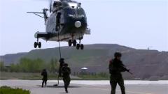 """融合訓練來了 第一次摸底測試直升機索降成了""""拉分題"""""""