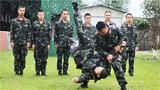 擒敌对抗训练。