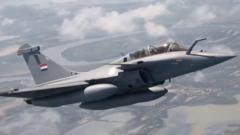 德法合研第六代战机模型亮相巴黎航展