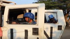 刚果(金):中巴维和官兵联合防卫演练