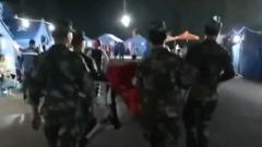 四川珙县发生5.4级地震  武警官兵紧急驰援