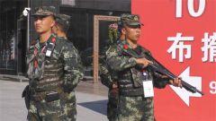 黑龙江总队:坚守中俄博览会执勤一线