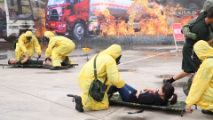 湖南长沙:军地卫生应急联合演练