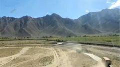 西藏雪域高原 武警后勤比武練精兵