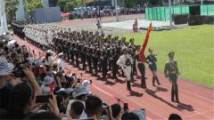 駐香港部隊舉辦香港青年學生專場軍營開放活動