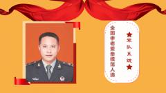 軍隊系統全國孝老愛親模范人選:王皓錦