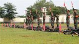6月25日,武警海南总队2019年度群众性练兵比武暨首届军人运动会火热开赛。