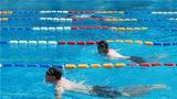 800米蛙泳比赛。