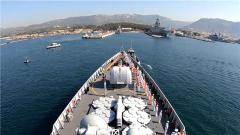 海軍第32批護航編隊西安艦訪問法國